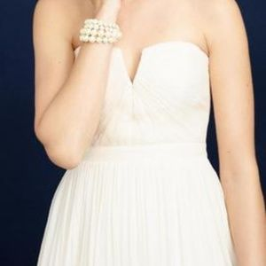 JCrew Nadia Ivory Wedding Dress